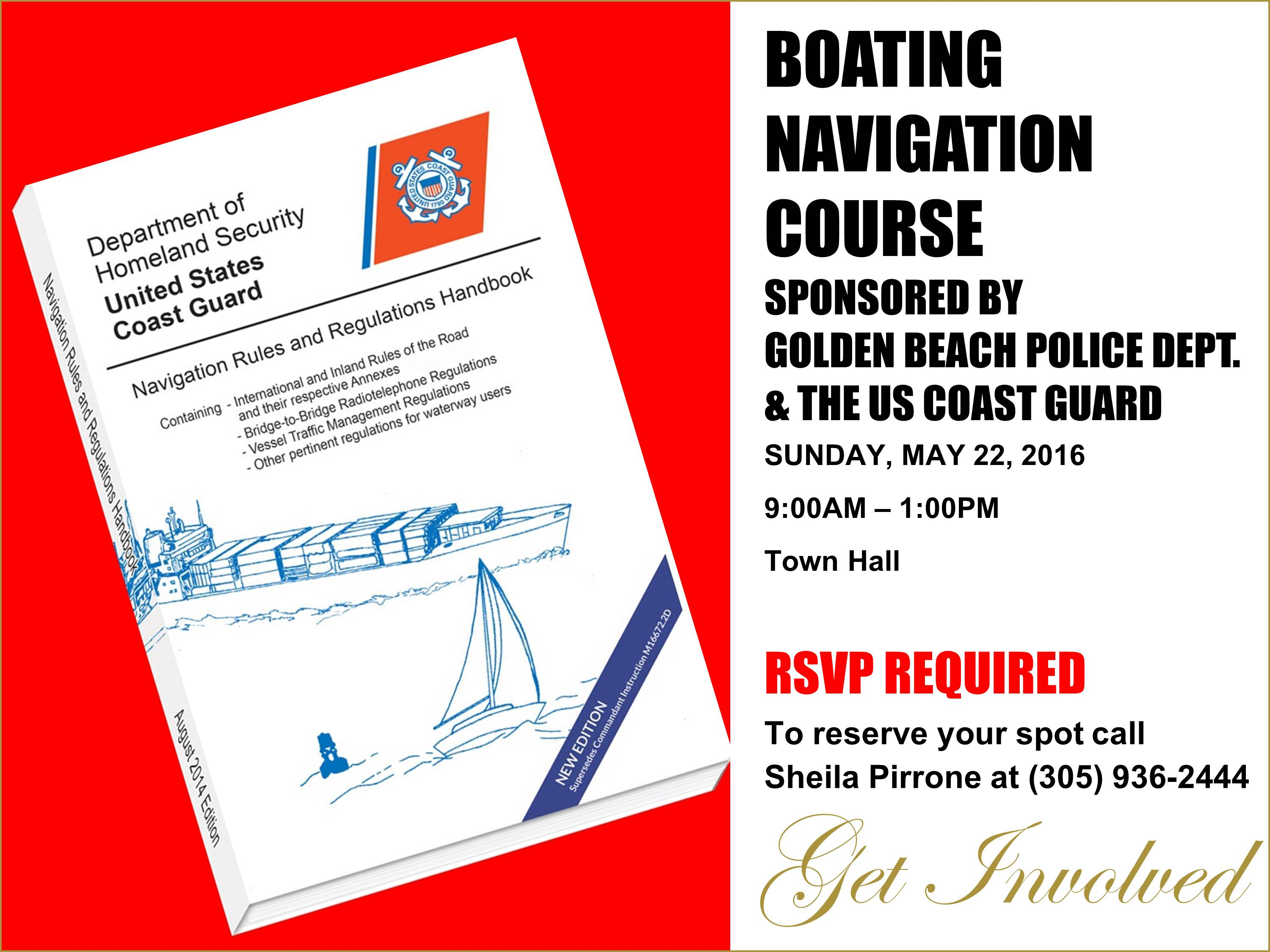 BOATING NAVIGATION 5-22-2016
